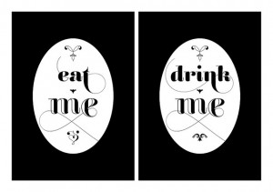 Eat Me, Drink Me, Hug Me Bachelorette Game