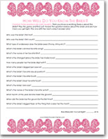 naughty-know-the-bride quiz