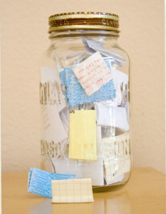 Favorite Memory Jar Game