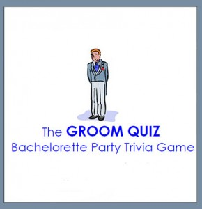 Free Bachelorette Party Groom Quiz